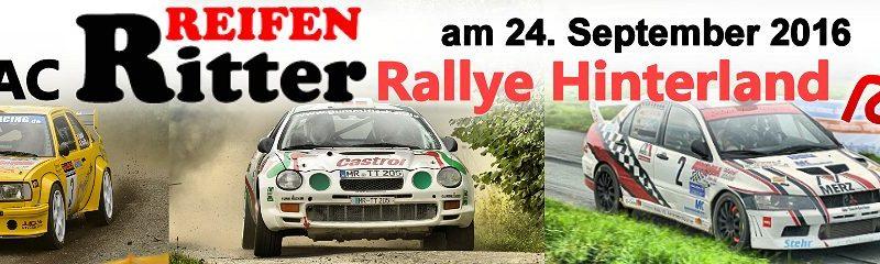Rallye Hinterland