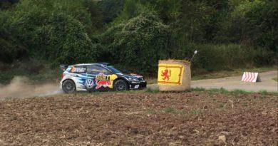 Besuch bei der Rallye Deutschland