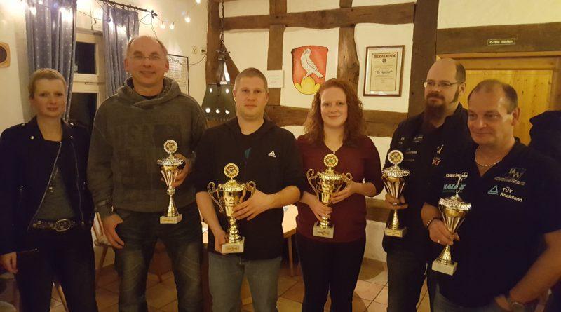 Siegerehrung Rallye Mittelhessen Cup